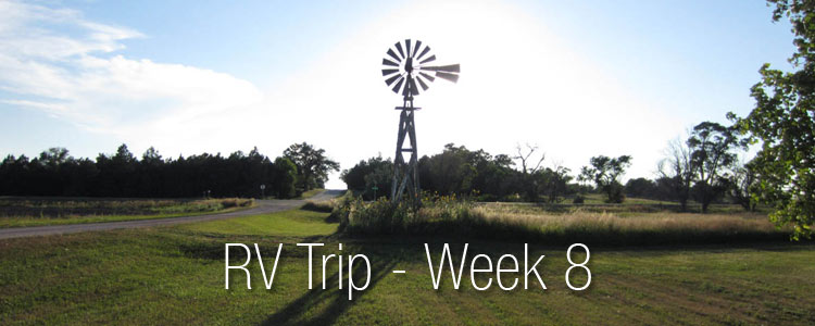 RV Trip Week 8 - Highlights and Photos