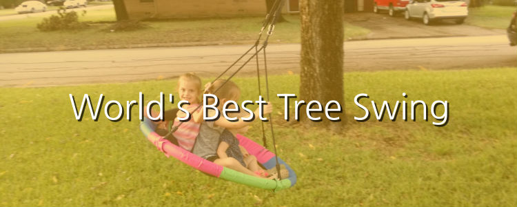 World's Best Tree Swing for Kids (and Adults)