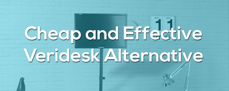 Cheap and Effective Alternative to a VeriDesk Standing Desk